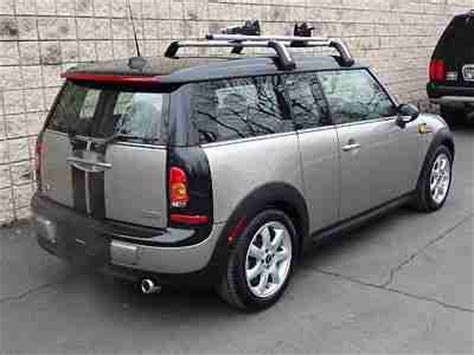 Clubman Roof Rack by Buy Used Mini Cooper Clubman Leather Sunroof Roof Rack
