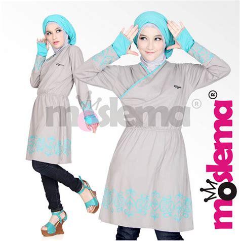 Baju Muslim Wanita 2016 Model Baju Muslim Wanita Bahan Kaos Terbaru 2016
