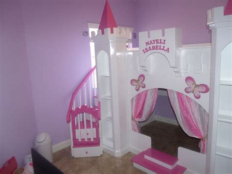 Princess Castle Headboard by Custom Princess Nayeli Castle Bed Loft Bunk