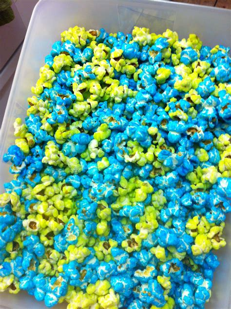 colored popcorn colored popcorn 2 cups sugar 1 2 cup water 1 tbsp butter 1