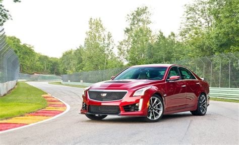 2018 cadillac cts v review coupe sedan price msrp