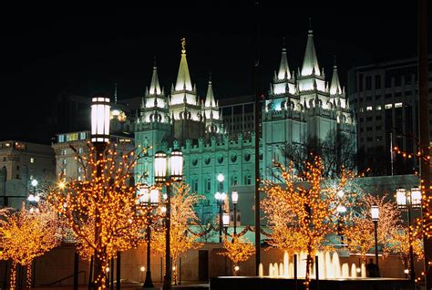 44 fresh of temple square lights