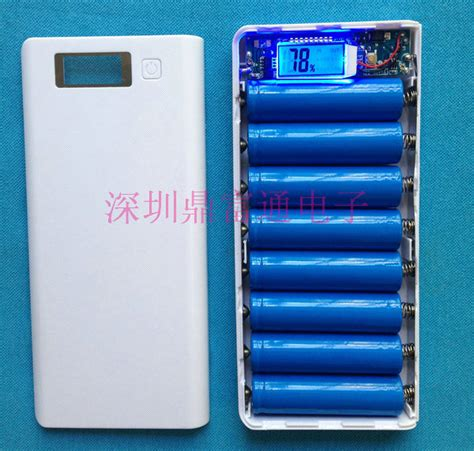 Diy Circuit Board 2 Usb Port Lcd Display 6 Section For Power Bank no battery diy power bank box with circuit board led