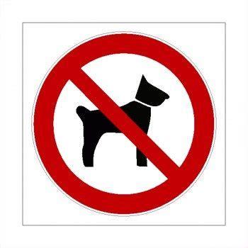 Aufkleber Für Helme by Verboten Keine Hunde Schild Hunde Verboten Aufkleber