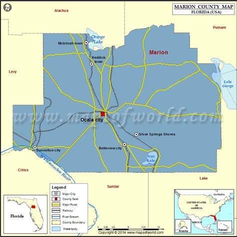 marion county map florida