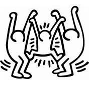 Malvorlagen Fur Kinder  Ausmalbilder Keith Haring