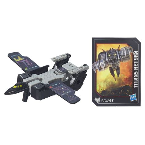 Titan Return Legend Class Ravage hasbro return legends ravage