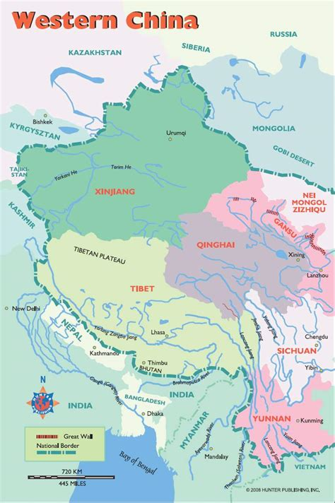 map of south china