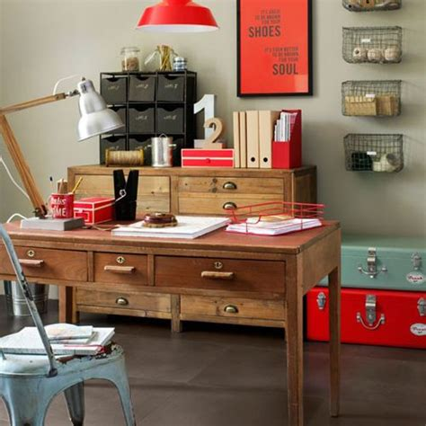 Home Decorating Themes Work In Coziness 20 Farmhouse Home Office D 233 Cor Ideas Digsdigs