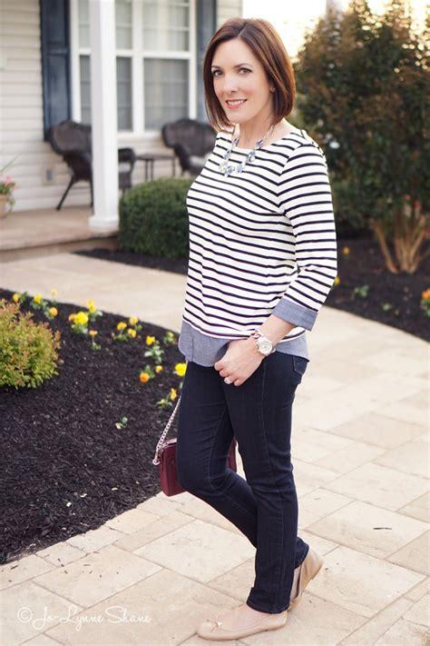 Butikmurahstore Kemeja Stripe Momon Blue 2 fashion friday black stripes chambray