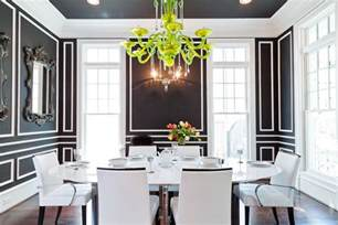 Black Dining Rooms by Easy Wall Molding Ideas To Dress Up Your Walls You Can