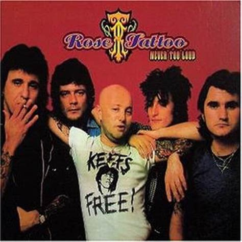 rose tattoo album covers never loud cd at discogs