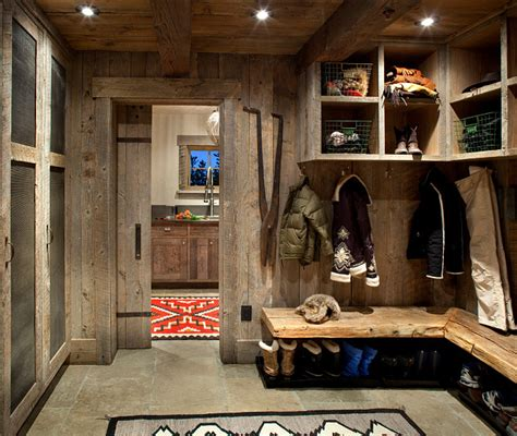 Rustic Laundry Room Decor Rustic Ski Lodge Home Bunch Interior Design Ideas