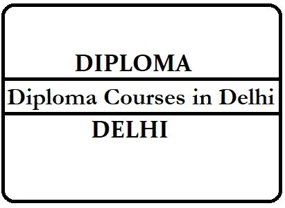 Diploma Courses In Usa After Mba by Diploma Courses In Delhi Diploma In Delhi Diploma