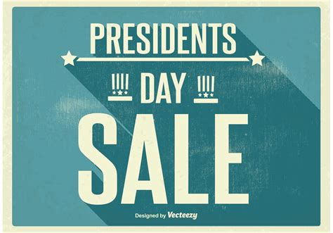 art posters for sale vintage presidents day sale poster download free vector