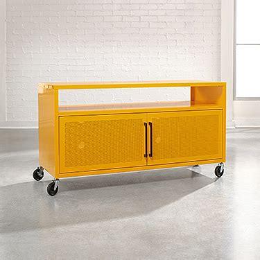 Shelf Of Saffron by Sauder Soft Modern 44 Tv Stand 414824 The Furniture Co