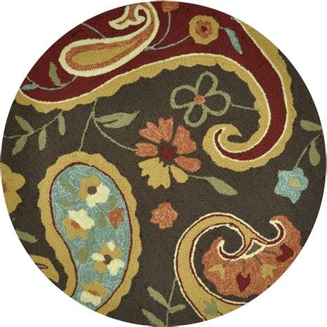 summerton collection rug loloi rugs summerton lifestyle collection chocolate multi 3 ft area rug 885369147692