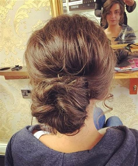 scruffy hair bun 38 perfectly imperfect messy hairstyles for all lengths