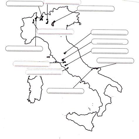 cartina muta italia cartina muta italia con laghi