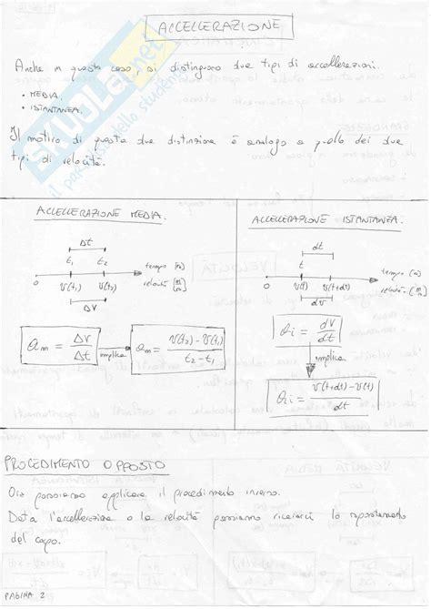 dispense di fisica 1 fisica generale 1