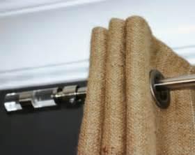 Grommet Burlap Curtains Burlap Grommets Etsy