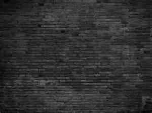 wall black painted bricks custom wallpaper