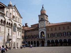 Modena Italy File Modena Palazzo Comunale E Duomo Jpg Wikimedia Commons