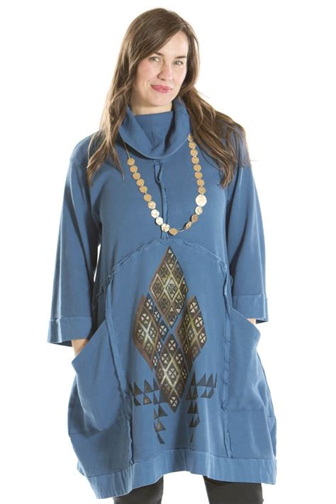 Fishy Tunic reflection thermal tunic printed blue fish clothing was 288 now my style shops