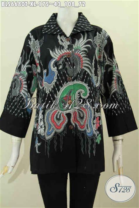 Celana Hitam Buat Kerja baju blus dasar hitam motif terkini pakaian batik