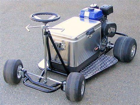motorized chest cooler scooter go cooler kart rad machines go kart