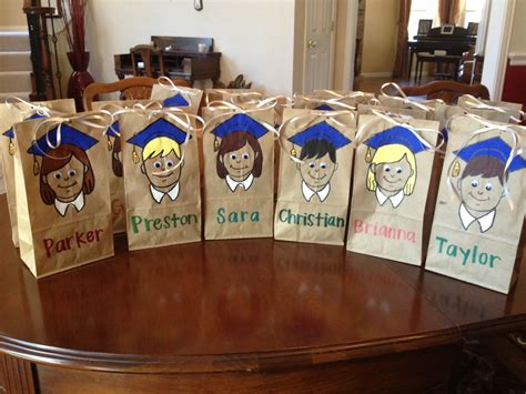 graduation goody bags easy elementary school graduation goodie bags cut out