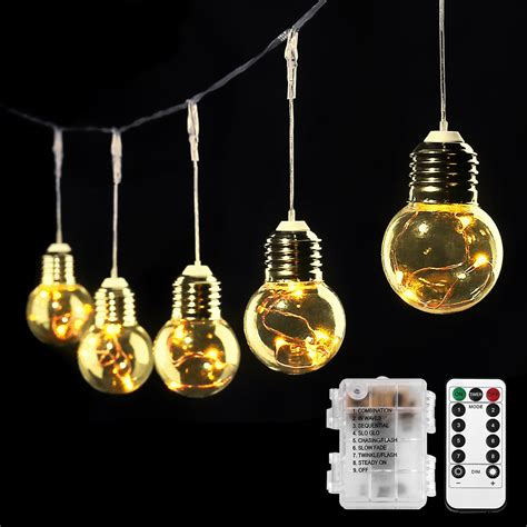 G45 Warm White Led Globe String Starry Lights For Home Led Globe Light String