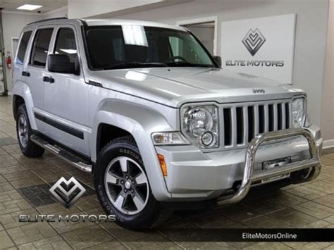 09 Jeep Liberty Find Used 09 Jeep Liberty 4wd Rocky Mountain 4x4 Auto In