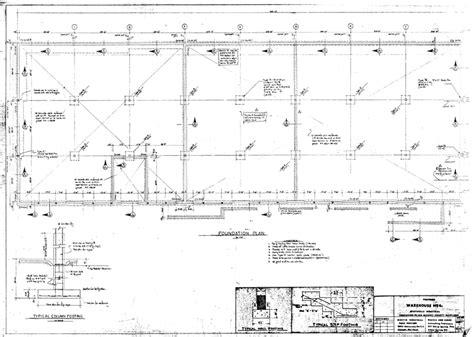 foundation plan drawing foundation plan drawing
