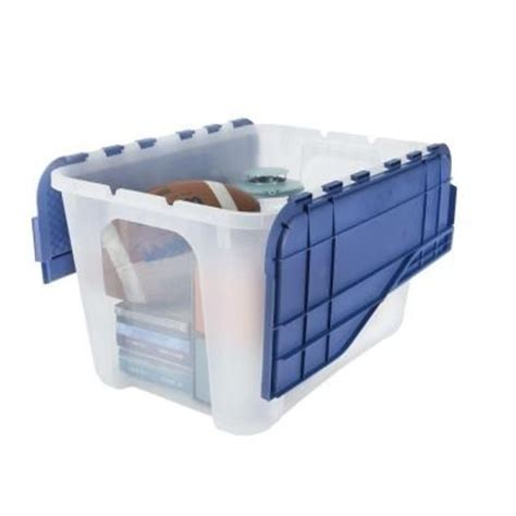 home design products 12 gallon flip top tote 17 best images about organize the stuff on pinterest