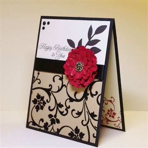 Creative Ideas For Handmade Greeting Cards - 25 best ideas about handmade birthday cards on