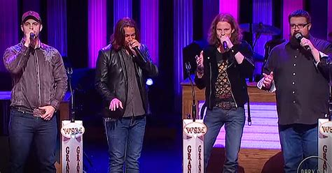 home free sings a cappella ring of at grand ole