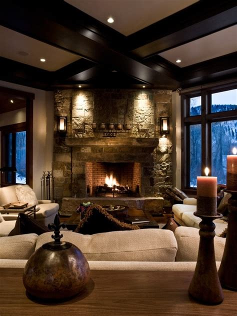 cozy home interiors rustic and cozy home decor favething com