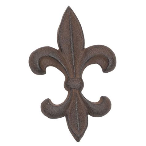 wholesale home decor cast iron fleur de lis wall decor