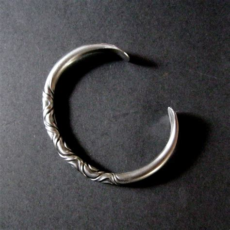iron bracelet jewelry torc celtic blacksmith mens iron