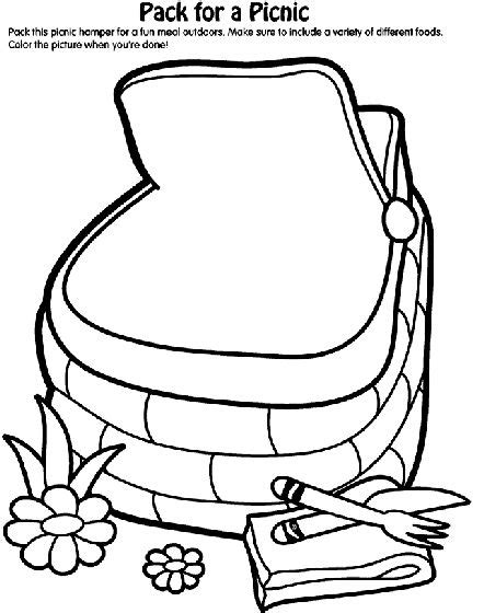 picnic coloring pages preschool 17 best images about prek teddy bear picnic on pinterest