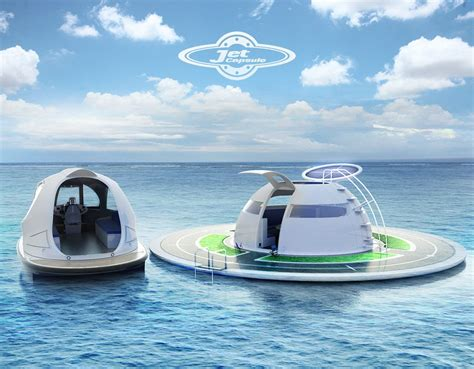 floating boat house ufo u f o the solar charged floating house for off grid