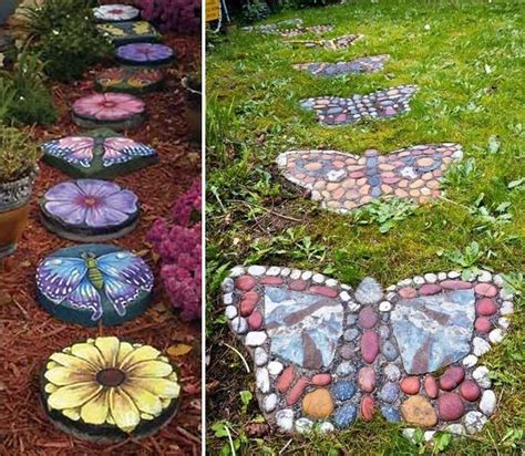 23 fun and whimsical garden stepping stone ideas diy cozy home