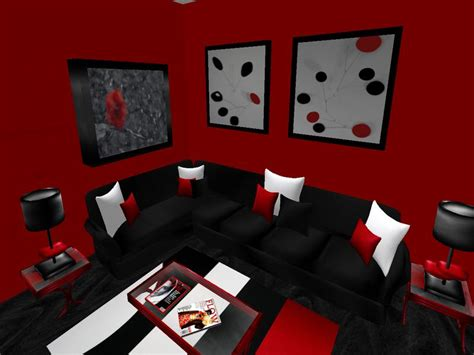 pics photos black and red room designs