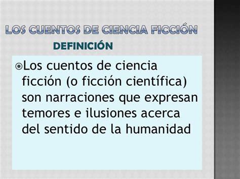 el concepto de ficcin el cuento de ciencia ficci 243 n