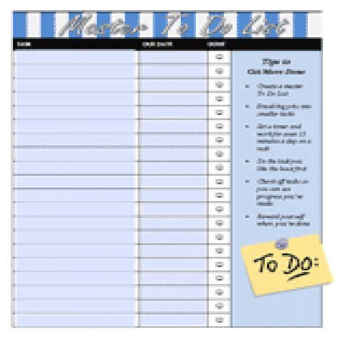 master task list template master task list task list templates