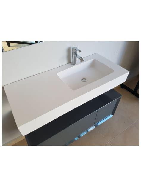 lavabos con encimera lavabo encimera de 1 seno desplazado con fald 243 n