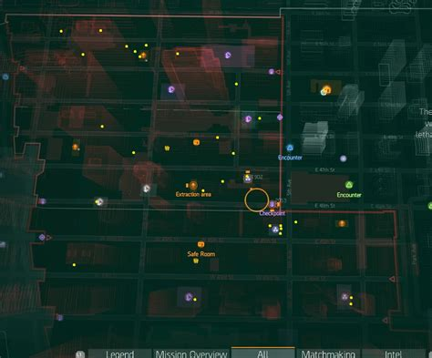 map of the s maps tom clancy s the division