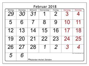 Kalender 2018 Februar Kalender Zum Ausdrucken Februar 2018 Welt