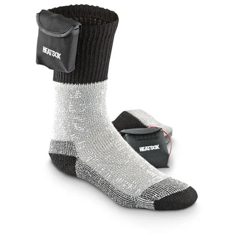 battery powered heat l grabber 174 heat sox battery powered socks black gray